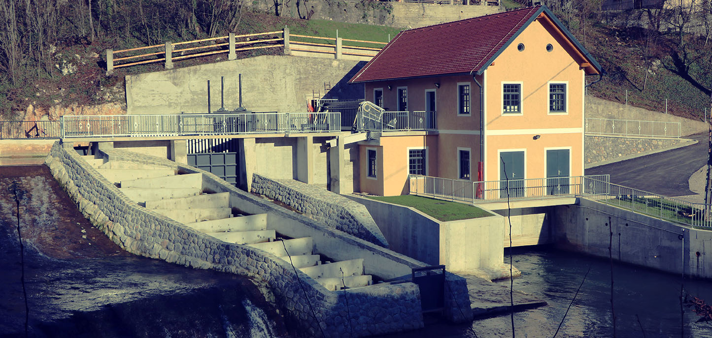 Founding of the Elektro Ljubljana Group's Small Hydropower Plants